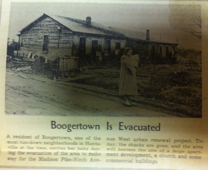 Boogertown Is Evacuated